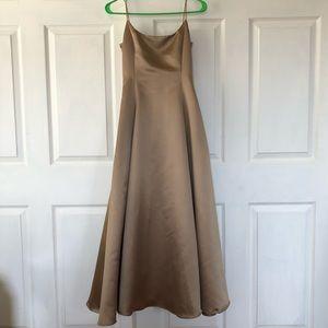 Vintage Ralph Lauren Bronze Gown